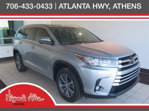 New 2017 Toyota Highlander XLE With Navigation