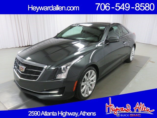 Pre Owned 2015 Cadillac Ats Coupe Standard Rwd 2dr Car In Athens