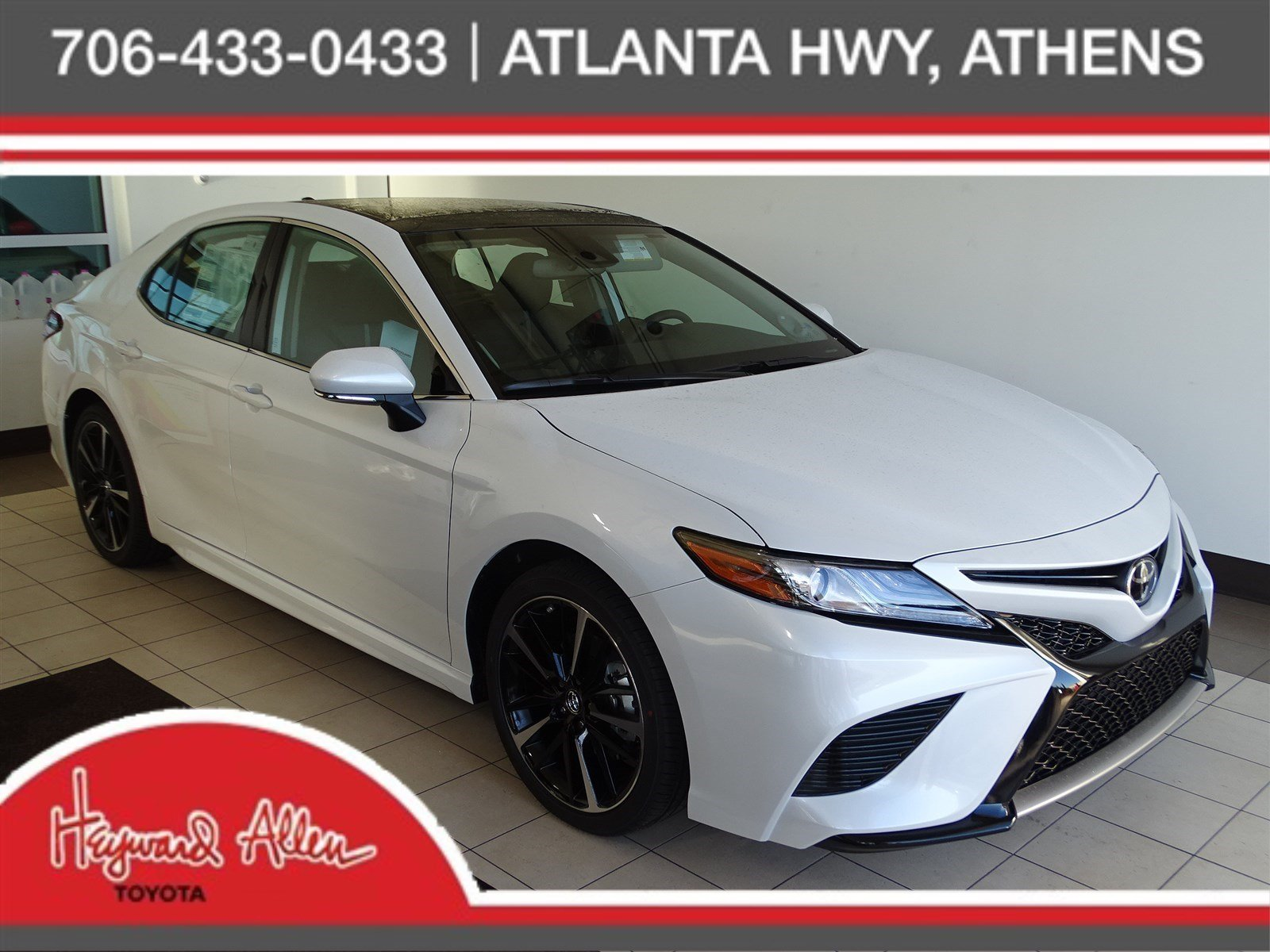 New 2019 Toyota Camry XSE 4dr Car in Athens KU