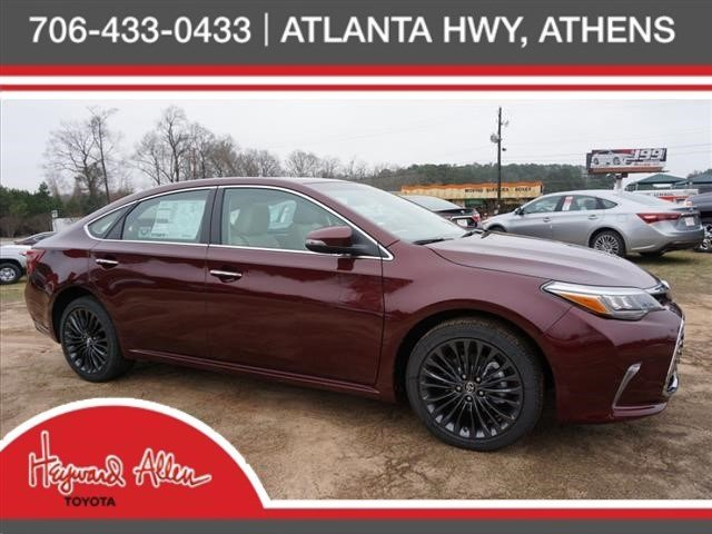 new 2017 toyota avalon touring 4dr car in athens hu252100 heyward allen toyota. Black Bedroom Furniture Sets. Home Design Ideas