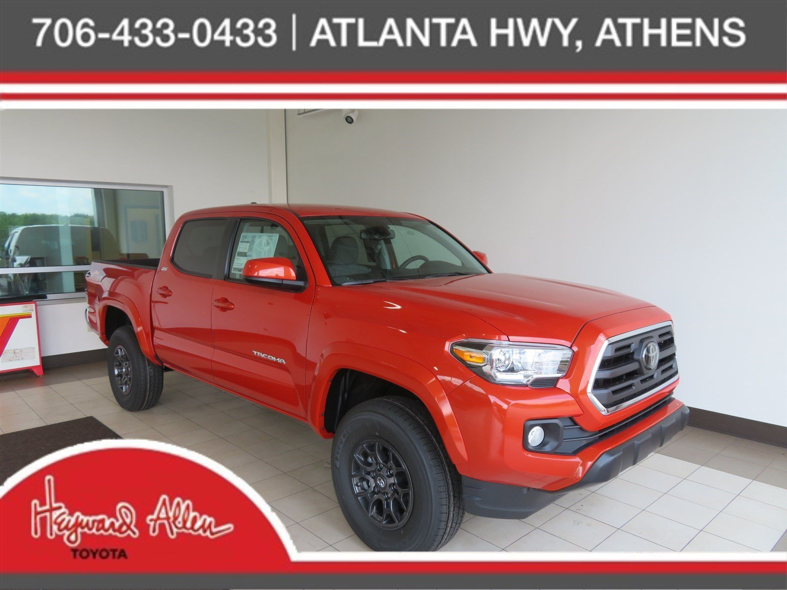 New 2018 Toyota Ta a SR5 Double Cab Pickup in Athens JX