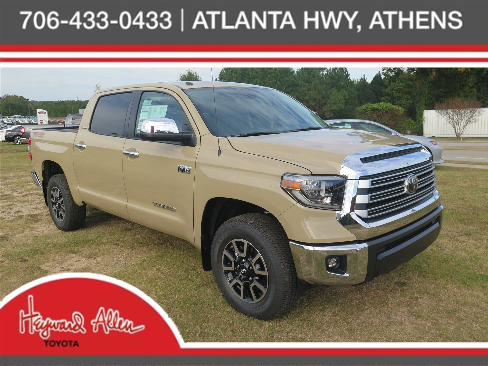 New 2018 Toyota Tundra 4wd Limited Double Cab Pickup In
