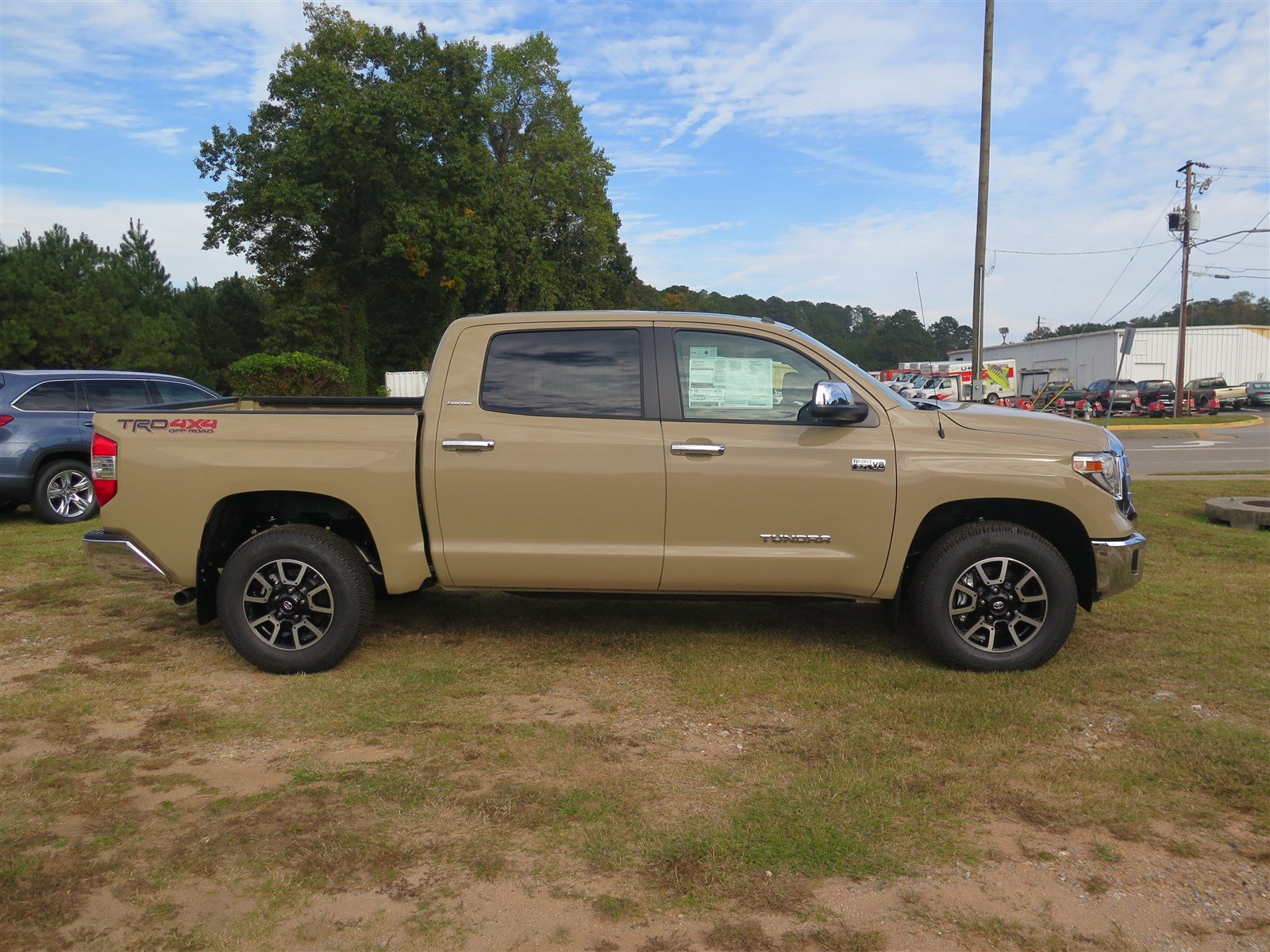 New 2018 Toyota Tundra 4WD Limited Double Cab Pickup in Athens