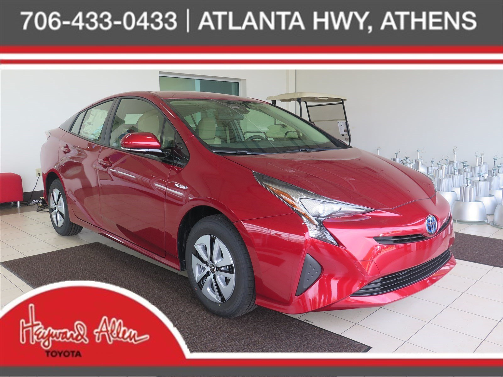 new 2018 toyota prius two eco hatchback in athens j3548938 heyward allen toyota. Black Bedroom Furniture Sets. Home Design Ideas