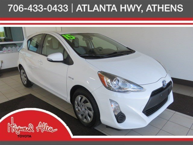 Pre Owned 2015 Toyota Prius C One 5d Hatchback In Athens P1700