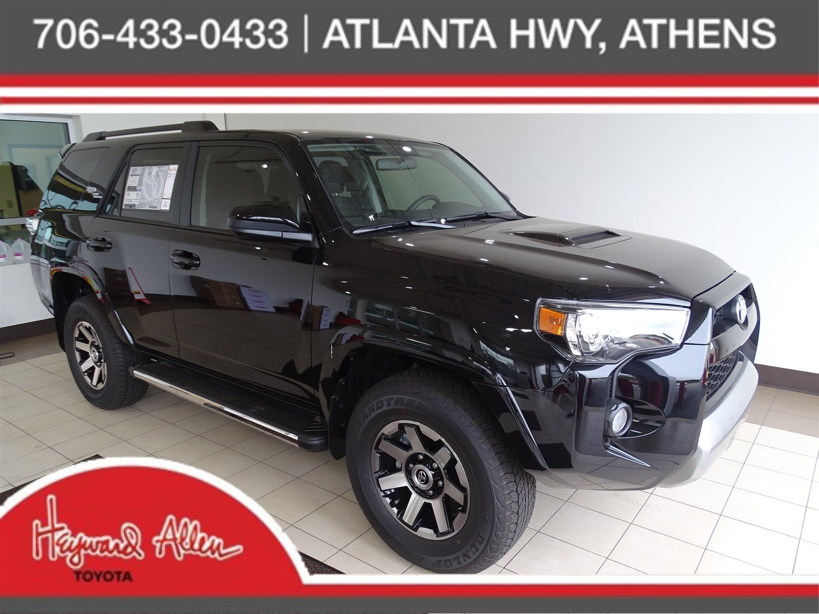 New 2019 Toyota 4runner Trd Off Road Sport Utility In Athens