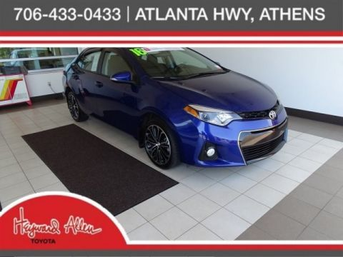 Pre Owned Cars >> Certified Pre Owned Cars For Sale Athens Ga Heyward Allen Toyota