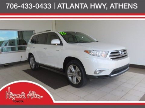Pre-Owned 2013 Toyota Highlander Limited FWD