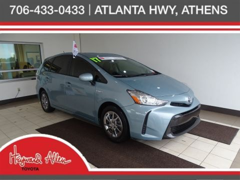 Certified Pre-Owned 2017 Toyota Prius v Two FWD